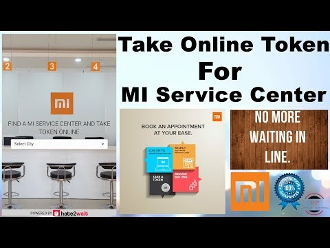 [Hindi]How to Take Online Token For MI Service Center|Book Online Appointment For Mi Service Center