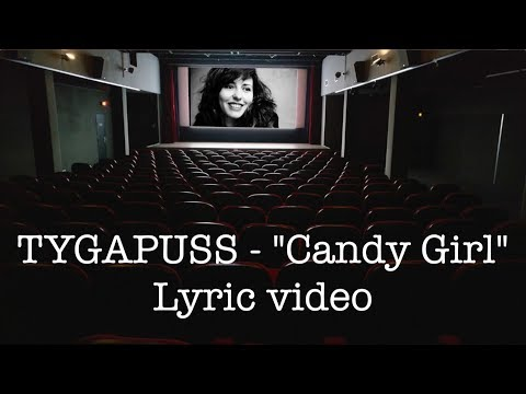 Female Post-Punk Revival - TYGAPUSS - Candy girl (Lyric video)
