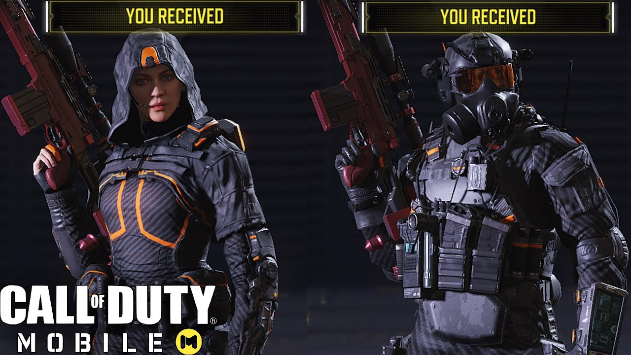 Call Of Duty Mobile Unlocking Rare Outrider Elite Pmc Going Dark Character Skins Youtube