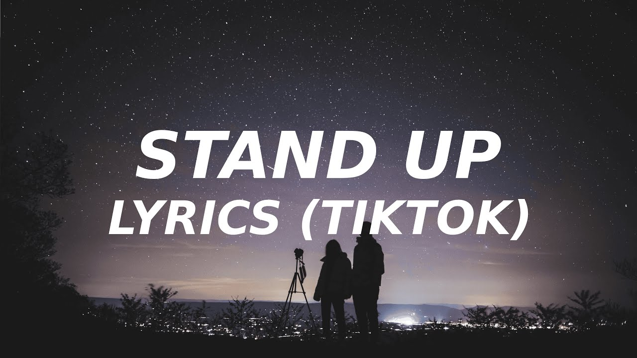 Stand up  Cynthia Erivo Lyrics TikTok song and i fight with the strength i got until i die