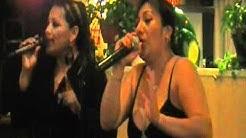 Lorena & Alicia   Cantando juntas  en restaurant tepatitlan Houston texas