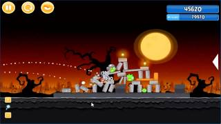 Angry Birds trick or treat 3 Estrellas parte 1-7