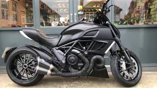 Ducati Diavel Dark Stealth ABS For Sale At Hastings Motorcycle Centre
