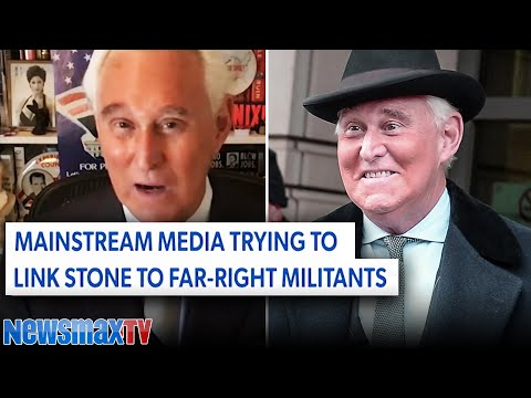Roger Stone punches back against 'far-right' accusations