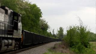 Norfolk Southern Fly-Ash Train 69J