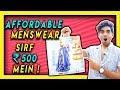 Summer fashion shopping | FASHION AT BIG BAZAAR men's haul! LAKSHAY THAKUR