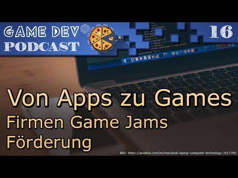 16 – Von Apps zu Games – Firmen Game Jams – Förderung