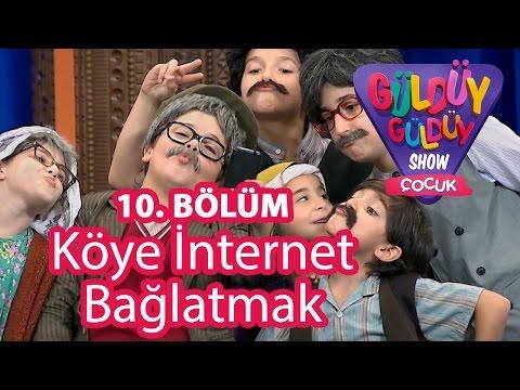 Güldüy Güldüy Show Çocuk 10. Bölüm, Köye İnternet Bağlatmak