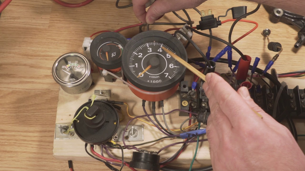 Outboard Motor Control Wiring Part 2