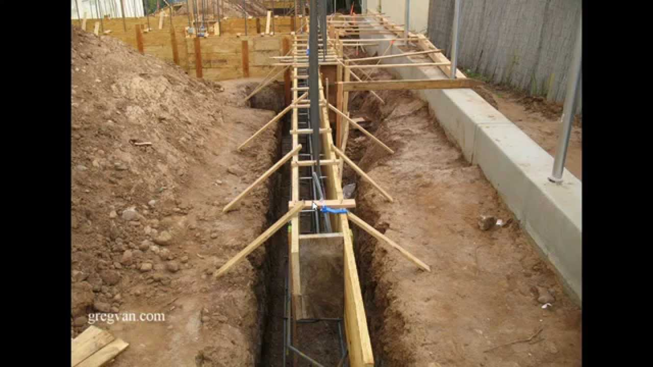 Watch this video before pouring a concrete foundation for Concrete basement forms