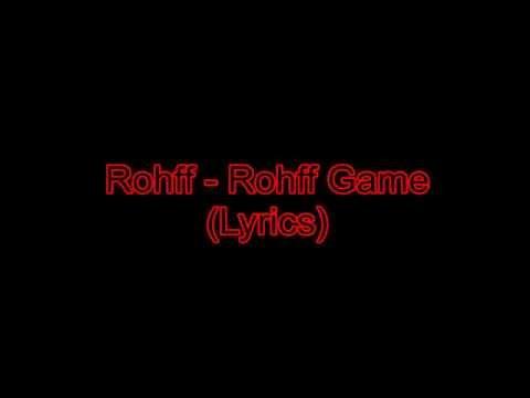Rohff - Rohff Game [Lyrics/Paroles]