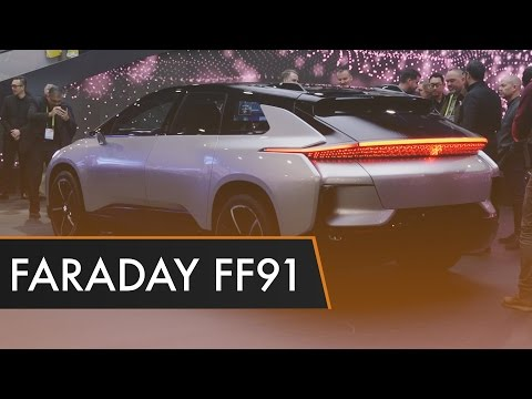 Faraday Future FF91 - First Impressions | CES 2017