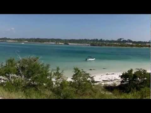 40 mile boat trip to Pensacola