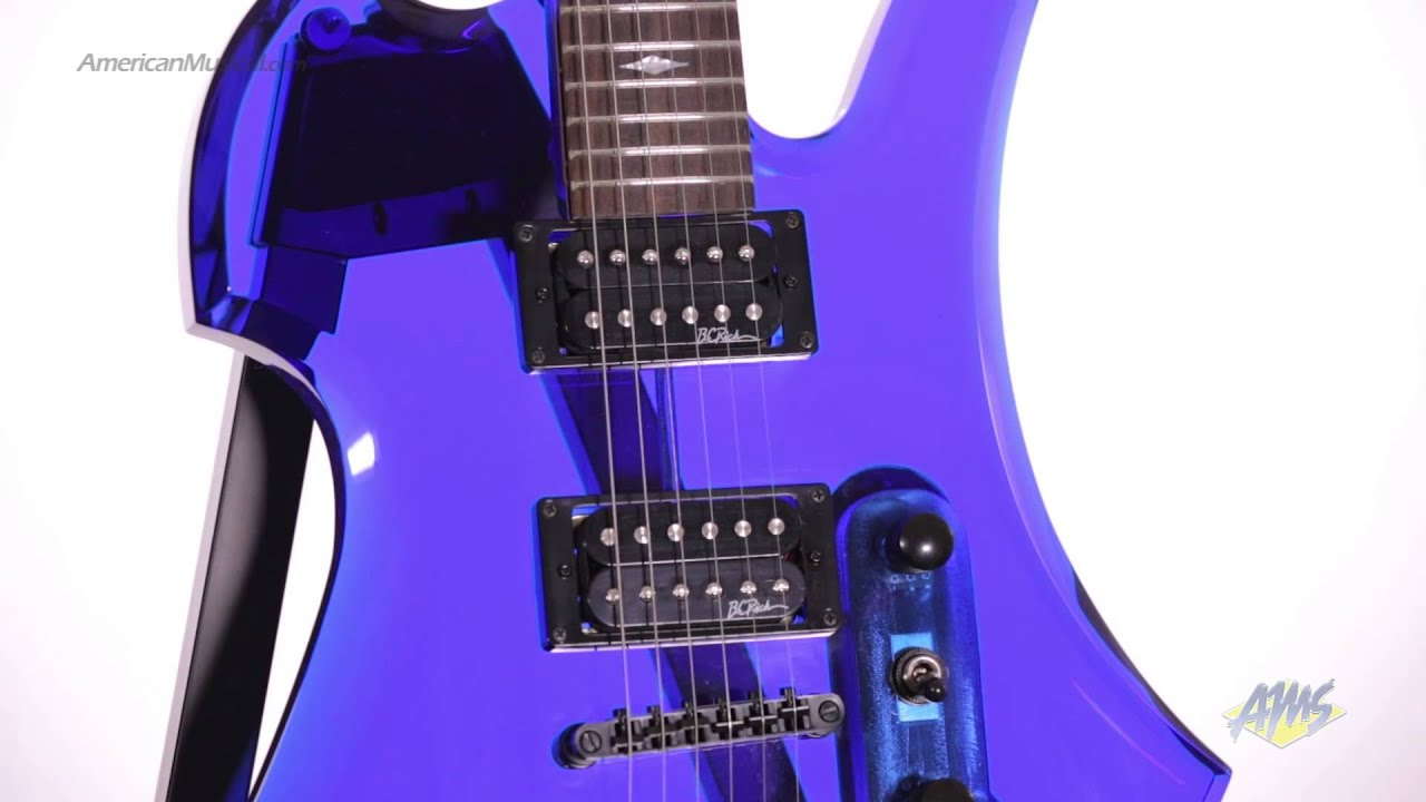 bc rich ice acrylic mockingbird electric guitar bc rich mockingbird youtube. Black Bedroom Furniture Sets. Home Design Ideas