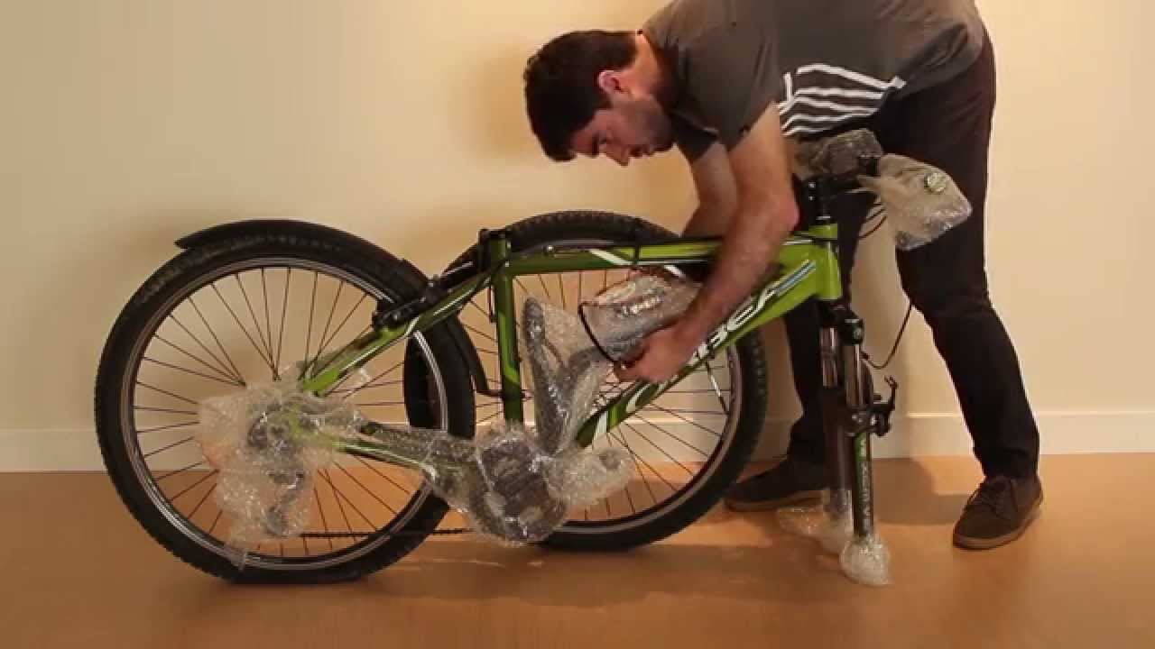 Cómo Embalar Una Bicicleta   YouTube