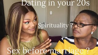 TWXO// SEX BEFORE MARRIAGE / DATING IN YOUR 20s ft MISS SOUTH AFRICA