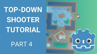 Godot Top-down Shooter Tutorial - Part 4 (Bullets and Signals)