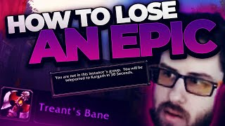 HOW I ALMOST LOST A 1 in 300 DROP EPIC (FAILS)