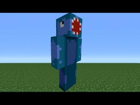 Minecraft 360: How To Make An iBallisticSquid Statue