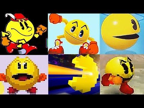 Evolución De Pac-Man VideoJuegos (1980)-(2017)