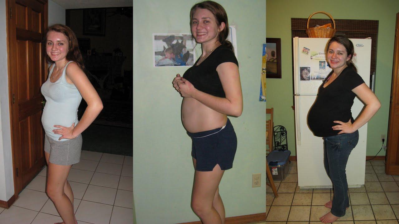Topic pregnant belly progression
