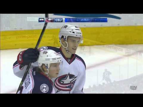 Blue Jackets @ Maple Leafs Highlights 01/13/16