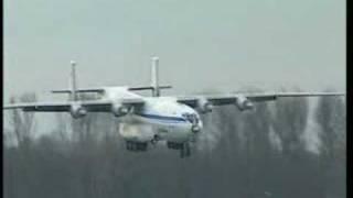 AN-22 landing in Speyer