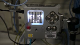Astro Pi Mission Zero code running on the International Space Station!