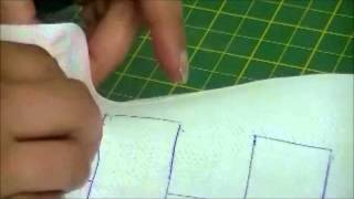 How To Do Smocking On Fabric By Rose