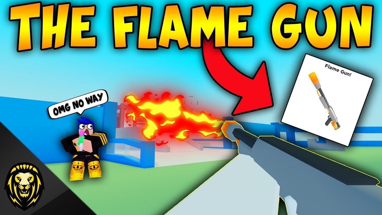Big Paintball Roblox Wiki The Flame Gun In Big Paintball Roblox Youtube