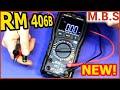 RM406B Самый быстрый мультиметр RICHMETERS Обзор мультиметра