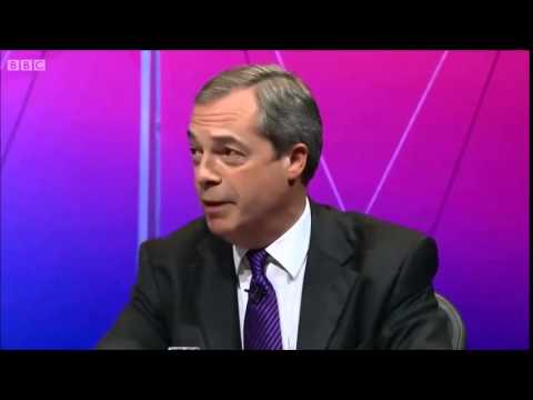 BBC Question time - Farage vs Brand, 2014