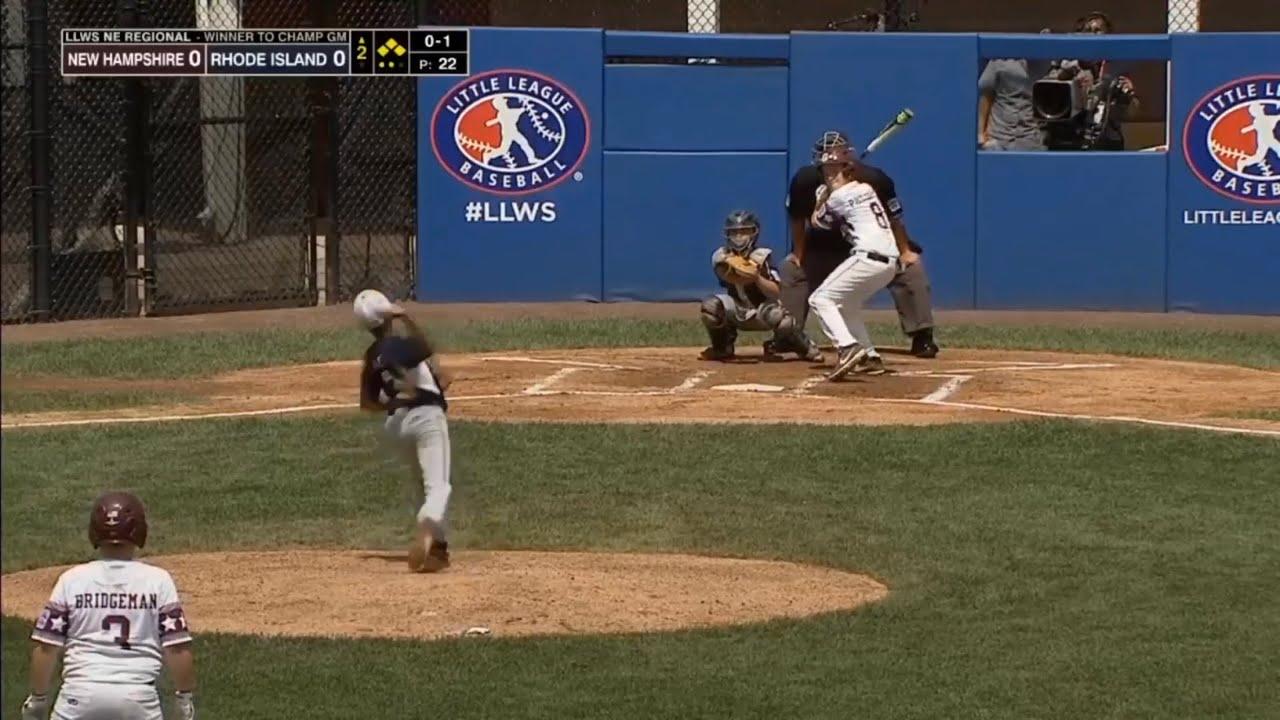 Little League World Series 2019 New England Region Semifinal | NH vs RI |  LLWS Highlights