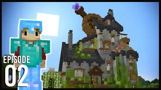 Hermitcraft 8: Episode 2 - GRIAN'S STARTER BASE!