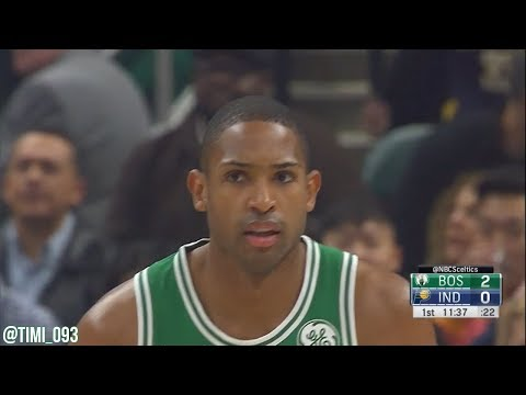 Al Horford Highlights vs Indiana Pacers (14 pts, 10 reb, 9 ast)