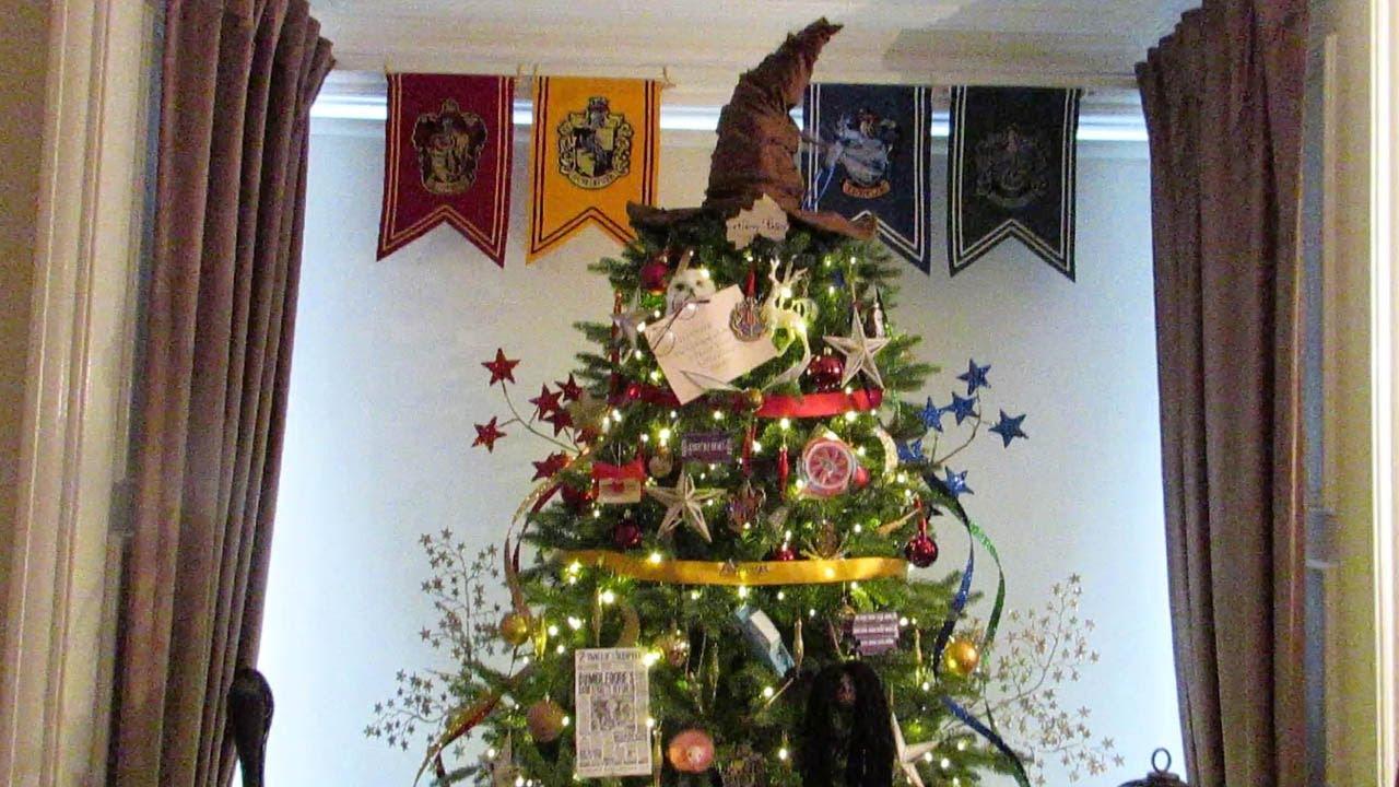 Amazing Harry Potter Christmas Tree