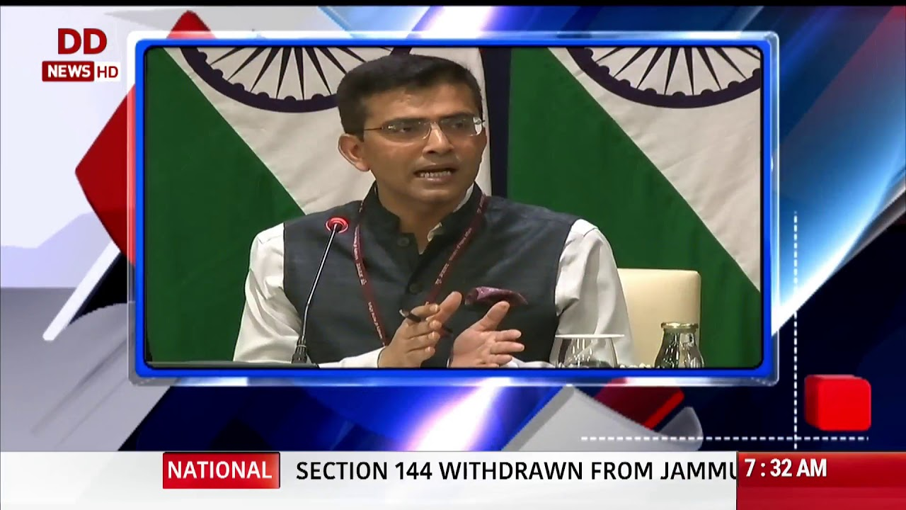 Headlines @ 7:30am | MEA tells Pak face reality, stay out of our internal  matters: other top news