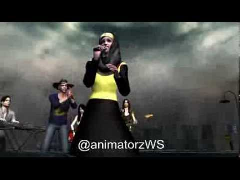 It Will Rain Bruno Mars - Fatin Shidqia Lubis (Animation)