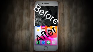 Obliterated iPhone 8 Restoration