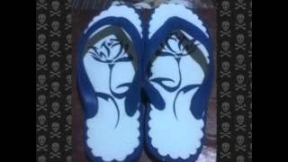Gambar kreatif sandal jepit video