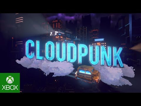 Cloudpunk Console Announcement Trailer