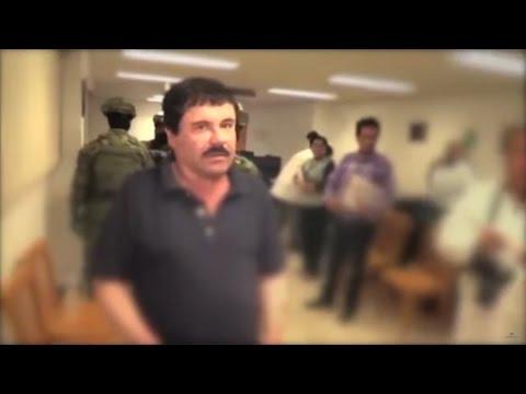 """El video de la PGR sobre la captura de Joaquín """"El Chapo"""" Guzmán"""