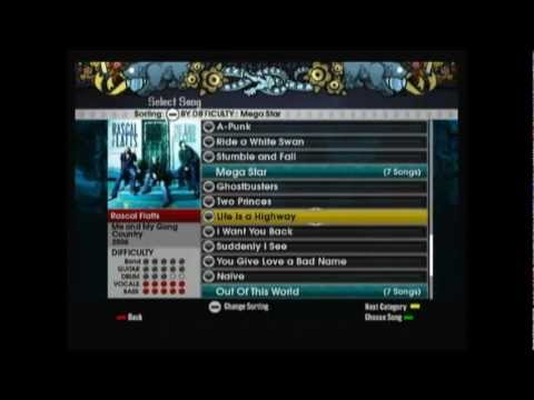 Rockband Lego song playlist