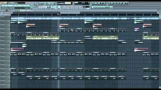 "Don Omar ft Hector ""el Father"" ft Zion & Lennox - Ronca (Remake) FREE FLP FL STUDIO 2012"