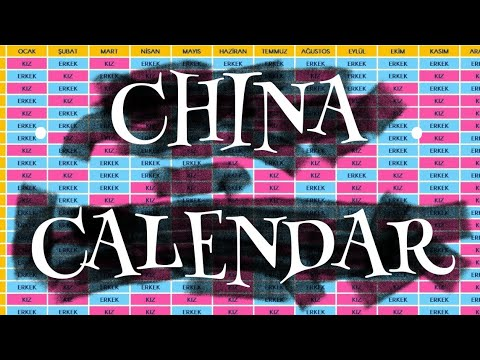 Is it a boy or a girl? Chinese CALENDAR