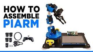 PiArm: The DIY Robotic Arm for Raspberry Pi