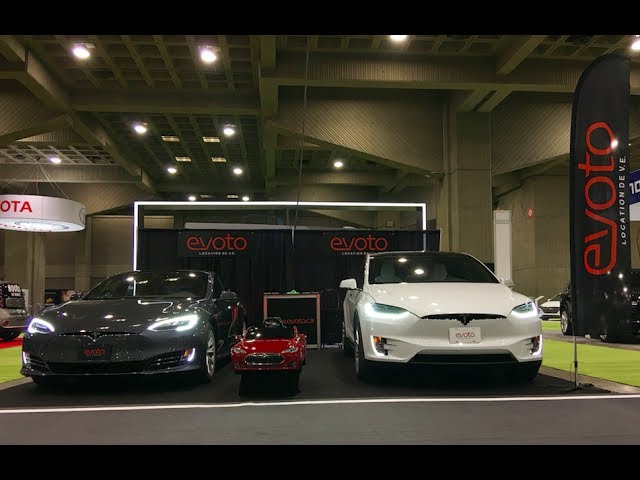 Evoto Model X and Model S stealing the show at SVEM
