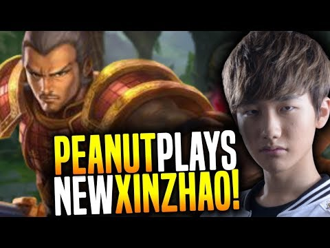 Peanut Plays NEW XIN ZHAO Jungle ft Pray & VS Faker Diana!