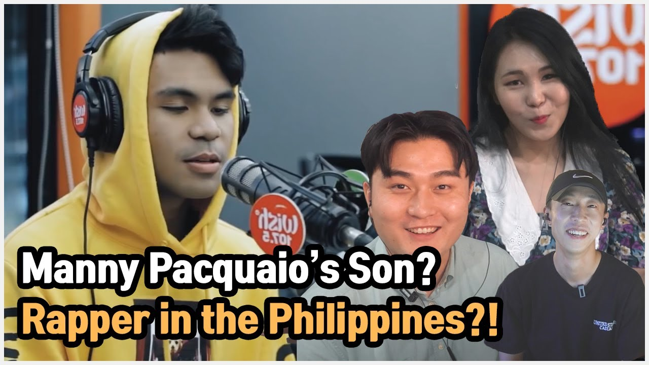 """Manny Pacquiao's son is a rapper?!"" Koreans react to HATE by Michael"