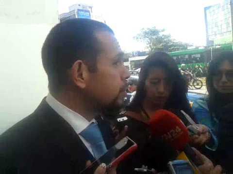 Juan Pablo Albán, abogado de lo cubanos detenidos en Quito
